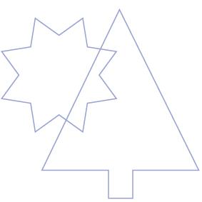 Baum und Stern