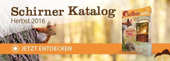 Schirner Katalog Herbst 2016 entdecken