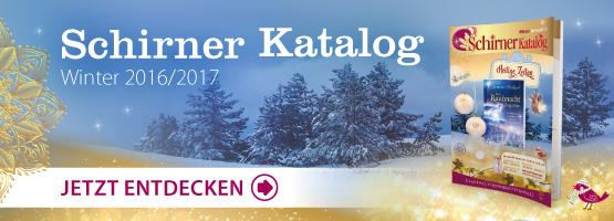 Schirner Katalog Winter 2016 entdecken