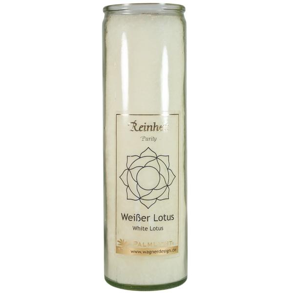 Windlicht »Weißer Lotus«
