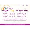 Schirner Tage 2016 - 3-Tagesticket