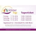 Schirner Tage 2016 - Tagesticket
