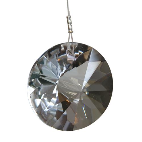 Kristallsonne »Mira« mit Feinschliff, Ø 4 cm