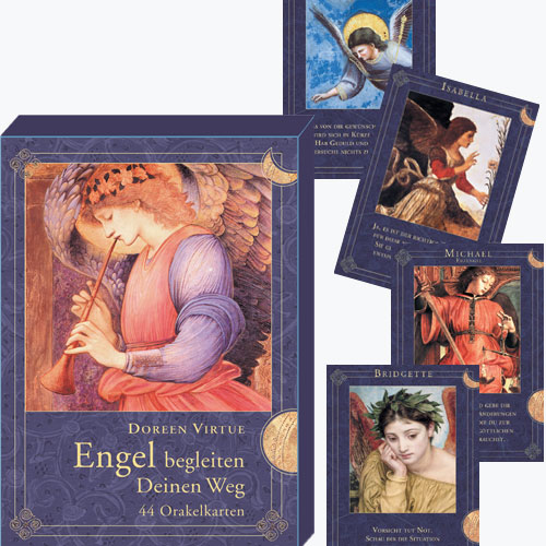 Engel begleiten deinen Weg, 44 Karten