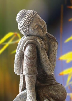 Poster »Schlafender Buddha«, DinA2